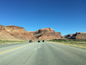 Descending into Moab