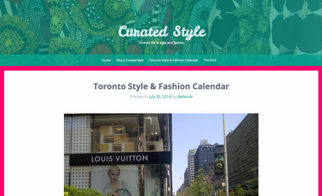 curated style